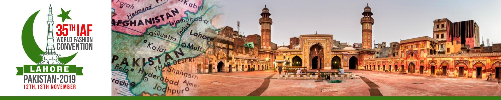 2019 Lahore - IAF 35th IAF World Fashion Convention Lahore